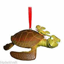 NEW Disney Parks Finding Nemo Dory Crush and Squirt Christmas Ornament