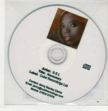 (GO750) S.E.L., Necessary - 2010 DJ CD