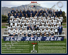 2014 NEW ENGLAND PATRIOTS SUPER BOWL 49 CHAMPIONS 8X10 TEAM PHOTO PICTURE #2