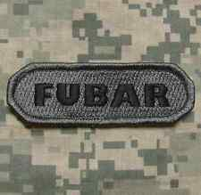 FUBAR TACTICAL INFIDEL ISAF MILITARY BADGE ACU DARK VELCRO® BRAND FASTENER PATCH