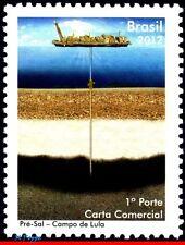 3209 BRAZIL 2012  - PRE SALT OF LULA - OIL - SHIPS & BOATS - MNH