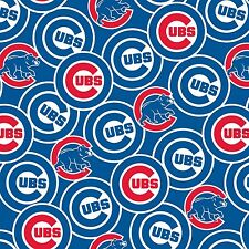 Fabric Tradition Chicago Cubs Baseball Fabric - BHY