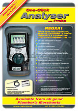 Regin Gas Flue Analyser With Probe REGXA1 - 48hr Free Delivery