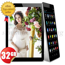 """32GB 10"""" Inch Google Android 5.1 Tablet PC QUAD Core Capacitive WIFI HDMI Camera"""