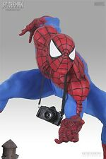 SIDESHOW EXCLUSIVE SPIDER-MAN PREMIUM FORMAT Figure Statue MIB!! Maquette Bust