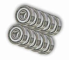 "(100) New Premium Quality R3ZZ R3 ZZ Shielded Ball Bearings 3/16"" x 1/2"" x .196"""