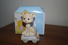 Precious Moments Birthday  Train Seven-Year Old Figurine