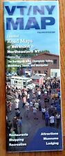 Vermont / N.E. New York Detailed Road Maps And Guide To Attractions by Blue Map