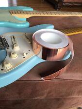 1ftx50mm - Copper Foil Shielding Tape - Single Sided