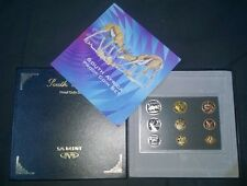 South Africa 2000 Millennium Short Proof Set in SA Mint Case - Scarce