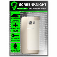 ScreenKnight Samsung Galaxy S6 Edge Plus BACK SCREEN PROTECTOR - Curved Fit