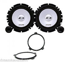 BMW 3 Series E46 16.5cm Front Door Component 2-Way Speaker Upgrade Kit