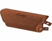 2015-2016 INDIAN SCOUT GENUINE LEATHER WINDSHIELD BAG DESERT TAN 2880901-05