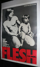 Flesh (LA Chair) Movie Poster - French Andy Warhol - (C-8 / C-9)