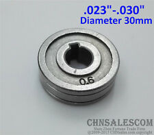 "0.6-0.8 V-Groove Mig Welder Wire Feed Drive Roller Roll Parts   .023""-.030"""