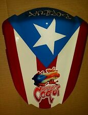 Custom painted Puerto Rico  Rear Seat Cowl Cover For Suzuki  GSXR1000 2007 2008