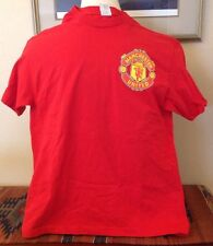 MANCHESTER UNITED football SOCCER #14 Lingard red T shirt L official logo CREST