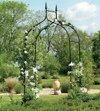 Gothic Arbor Garden Trellis Outdoor Metal Arch For Backyard Patio Rose Garden