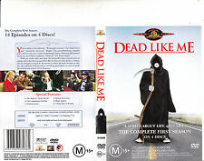 Dead Like Me-2003/4-TV Series USA-Complete First Season-4 Disc-DVD