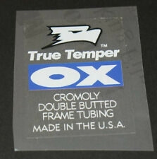 True Temper Ox Frame Decal (sku 652)