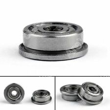 12x F623ZZ Shielded Modelo Flange Bearing Shaft 3x10x4mm Para 3D Impresora DIY