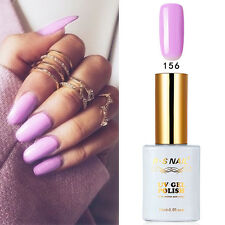 RS 156 Gel Nail Polish UV LED Soak-off Shiny Light Purple 15ml Summer Nail Salon