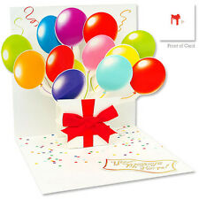 3D Greeting Card by Up With Paper - Balloons #559