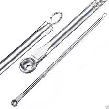 New Stainless Pimple Blackhead Remover Extractor Tool Facial Acne Spot Comedone
