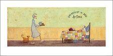 Sam Toft (colazione a letto per Doris) Cat No: ppr41136 ART PRINT 50 x 100 cm