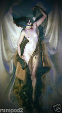 Rolf Armstrong Art Deco Poster/Print/'Nude Dancer'/Beautiful reproduction