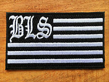 BLACK LABEL SOCIETY Sew Iron On Patch Embroidered Rock Band Heavy Metal Music