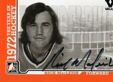 RICK MacLEASH 2009 IN THE GAME 1972 THE YEAR IN HOCKEY AUTOGRAPHED CARD