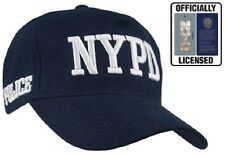 "NAVY BLUE "" GENUINE NYPD ""  Hat Military Low Profile Adjustable Cap 8270"