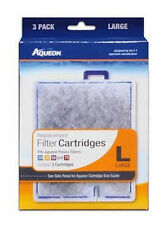 AQUEON FILTER CARTRIDGE LARGE. FOR QUIET FLOW 20.30.50,55 & 75 FILTERS. 3PK