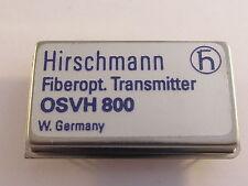 OSVH800 Hirschmann Hybrid Video Transmitter Modul für Fiberoptics