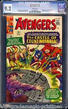AVENGERS # 13 CGC 9.2 (1965) WHITE PAGES STAN LEE STORY CGC #0072855014 CE