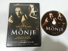 EL MONJE THE MONK DVD VINCENT CASSEL CASTELLANO FRANCES