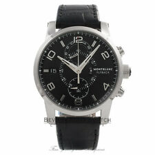 Montblanc Timewalker Twinfly Chronograph Stainless Steel 43mm 105077