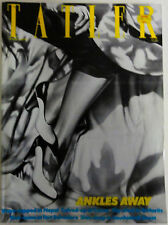 TATLER Magazine Volume 278 Number 7 July&August 1983 Manolo Blahnik shoes cover