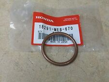 NEW OEM HONDA EXHAUST PIPE HEADER COPPER GASKET TRX 700XX SPORTRAX 450R 450ER