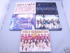 Lot 5 SNSD GIRLS' GENERATION Japan 1st Press Limited Edition CD + DVD Photo book