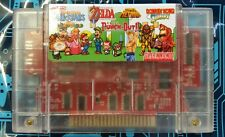 Super Nintendo All-Stars 6 in 1 (SNES) Mario World,Zelda,Donkey kong,Metroid