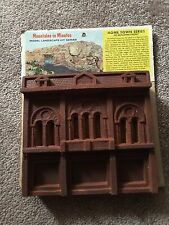 HO TRAIN RARE & VINTAGE MOUNTAINS IN MINUTES HO Building Front 2 NEW IN PACKAGE!
