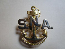 USN US NAVY SNA CAP BADGE INSIGNIA