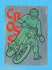 SUPERSPORT 1986-PANINI 86-Figurina - CROSS - ADESIVO FUORI RACCOLTA -NEW