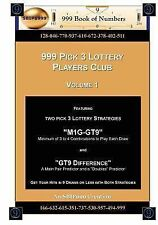 999 Pick 3 Lottery Players Club Ser.: 999 Pick 3 Lottery Players Club Volume...
