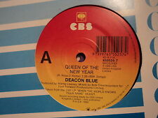 """Deacon Blue """"Queen Of The New Year"""" Great CBS Oz 7"""""""