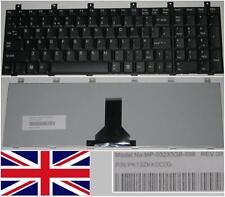 CLAVIER QWERTY UK Toshiba Satellite M65 M60 P100 P105 MP-03233GB-698 PK13ZKK0C00
