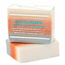 3 Bars Premium Maximum Whitening/Peeling Soap w/Glutathione,Arbutin,& Kojic Acid
