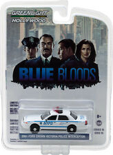 GREENLIGHT 2001 FORD NEW YORK CITY POLICE (NYPD)  BLUE BLOODS 1/64 CAR 44760D